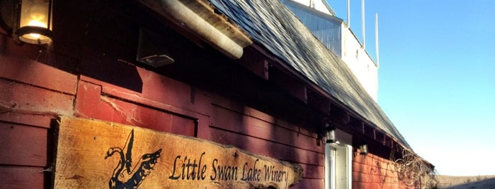 Little Swan Lake Winery Shop is one of Iowa.