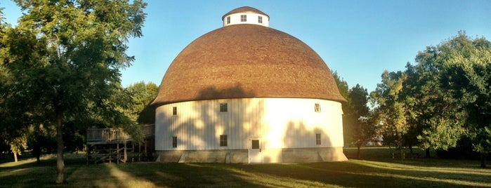Charles Knapp Round Barn is one of Iowa.