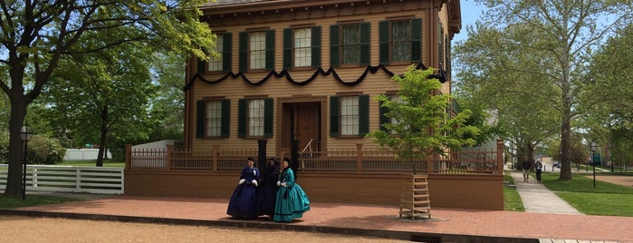 Lincoln Home National Historic Site is one of Route 66 Roadtrip.