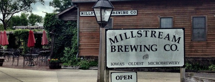 Millstream Brewing Company is one of Iowa.
