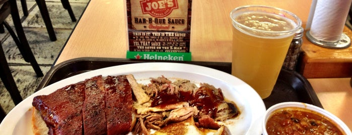 Joe's Kansas City Bar-B-Que is one of Kansas City.