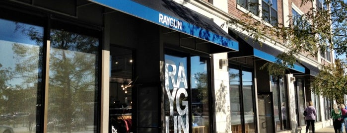 RAYGUN is one of Evan[Bu] Des Moines Hot Spots!.