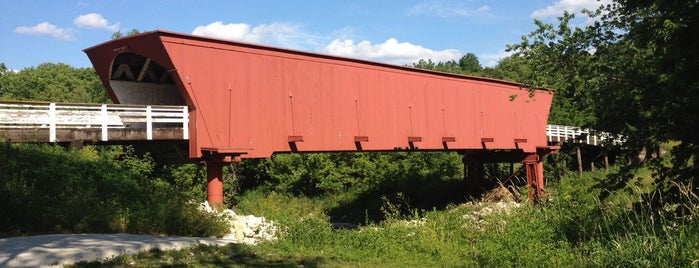 Roseman Covered Bridge is one of Iowa.