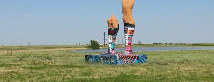 Ozymandias On The Plains / Legs of Amarillo is one of Route 66 Roadtrip.