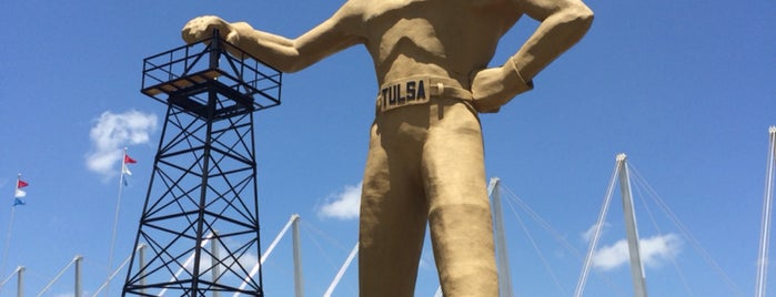 Golden Driller is one of Route 66 Roadtrip.