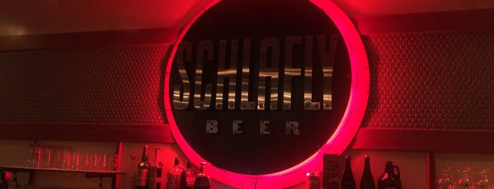 Schlafly Bottleworks is one of St. Louis.