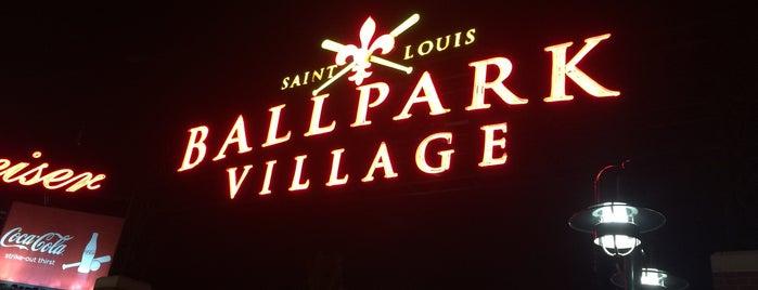 Ballpark Village St. Louis is one of St. Louis.