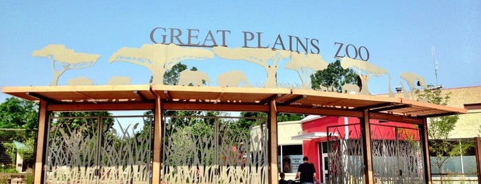Great Plains Zoo is one of Top Things to do in Sioux Falls.