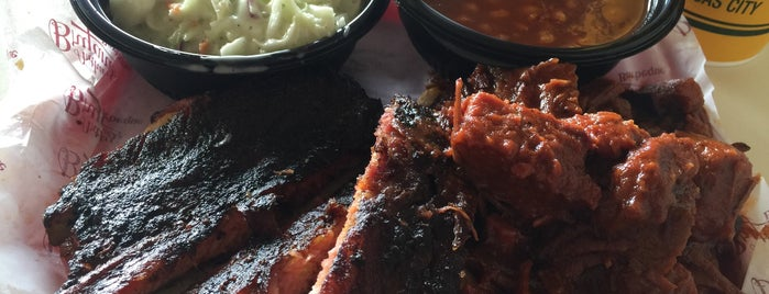 Arthur Bryant's Barbeque is one of Kansas City.