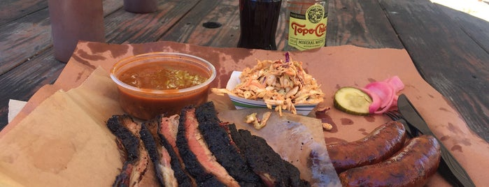 La Barbecue Cuisine Texicana is one of Austin.