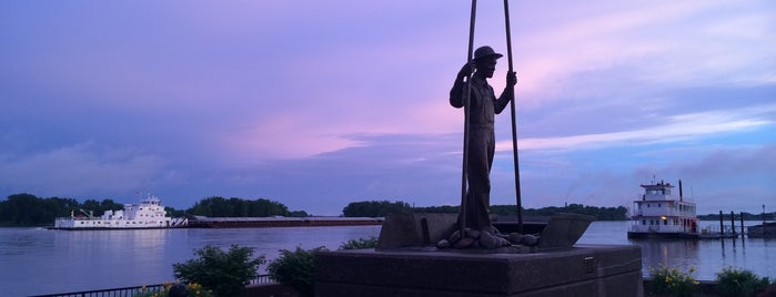 Muscatine Riverfront is one of Iowa.