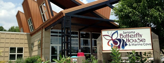 Sertoma Butterfly House & Marine Cove is one of Top Things to do in Sioux Falls.