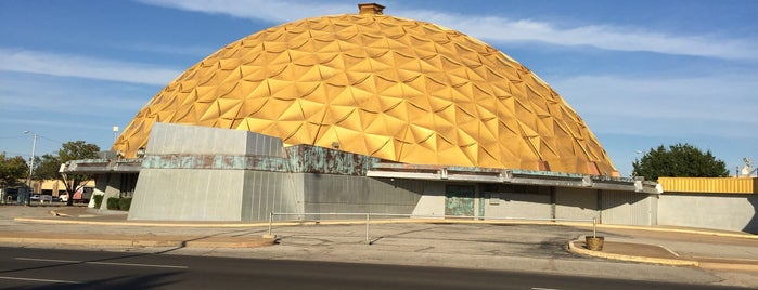 Gold Dome is one of Route 66 Roadtrip.