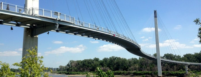 Bob Kerrey Pedestrian Bridge is one of Iowa.