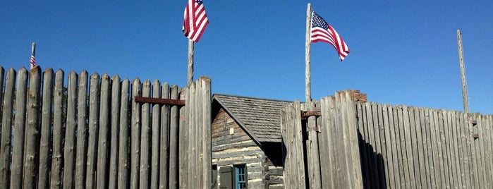 The Fort Museum and Frontier Village is one of Iowa.