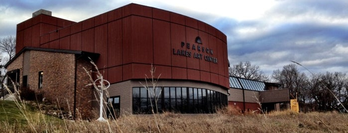 Pearson Lakes Art Center is one of Iowa.