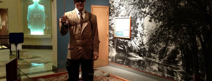 Herbert Hoover Presidential LIbrary & Museum is one of CBS Sunday Morning 2.
