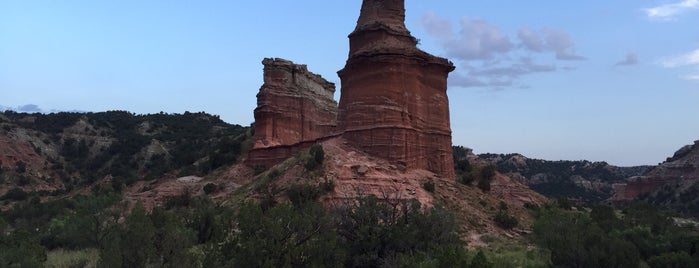 Palo Duro Canyon State Park is one of Route 66 Roadtrip.