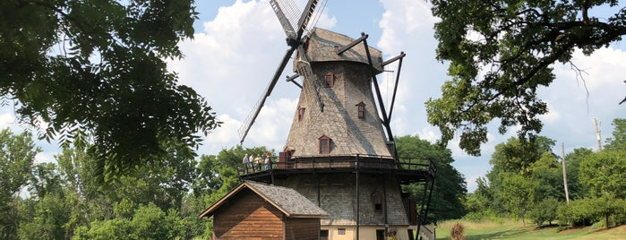 Fabyan Windmill is one of Lieux qui ont plu à Consta.