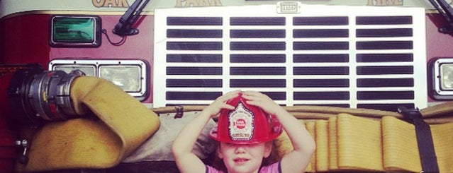 Oak Park Fire Department is one of favorites 1.