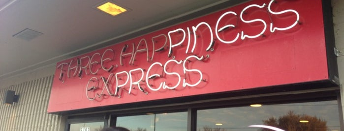Three Happiness Express is one of Fave Omaha Restaurants.