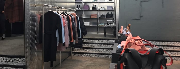 ACNE Studious Boutique is one of London.