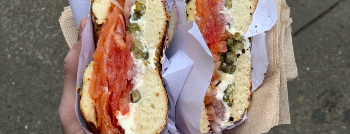 Black Seed Bagels is one of New york.