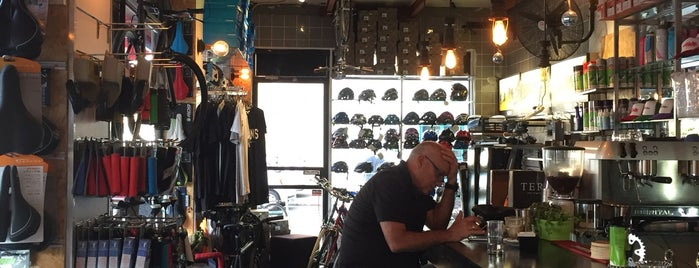 Bike Cafe is one of RadNomad - Tel Aviv.
