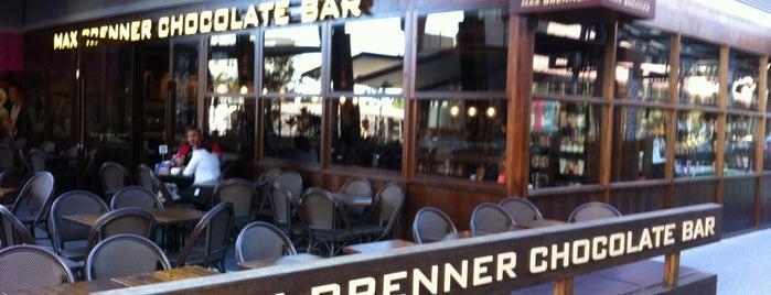 Max Brenner Chocolate Bar is one of Brisbane.