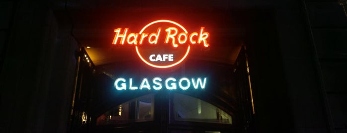 Hard Rock Cafe Glasgow is one of United Kingdom.