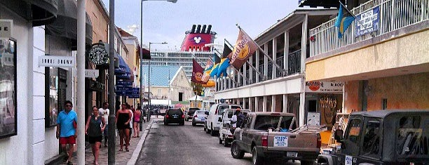 Downtown Nassau is one of Nassau, Bahamas.