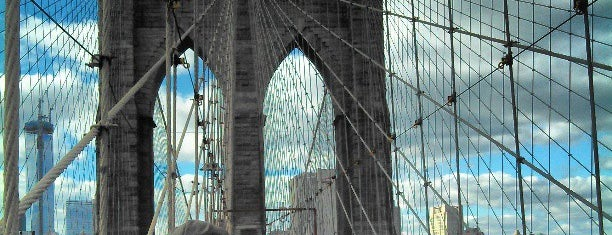 Pont de Brooklyn is one of Marvel Comics NYC Landmarks.