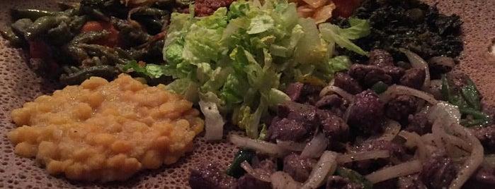 Bete-Lukas Ethiopian Restaurant is one of Tempat yang Disukai PDX.
