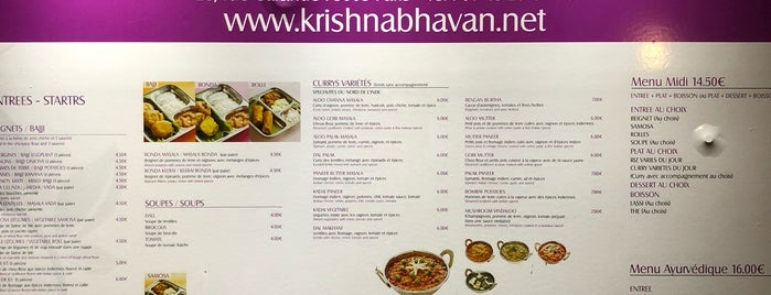 Krishna Bhavan is one of indien a paris.
