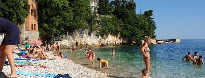 Plaža Pećine is one of Crikvenica.