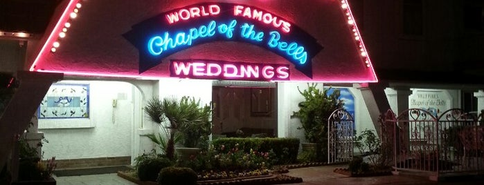 World Famous Chapel of the Bells is one of My list.
