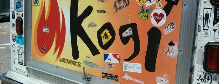 Kogi BBQ Truck is one of Los Angeles.
