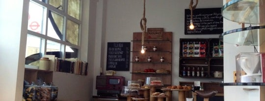 To the Jungle is one of Specialty Coffee Shops (London).