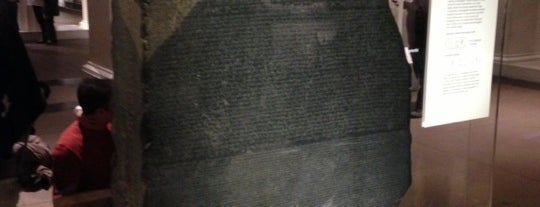 The Rosetta Stone is one of David'in Beğendiği Mekanlar.