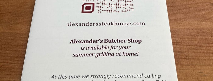 Alexander's Steakhouse is one of Los Angeles More.