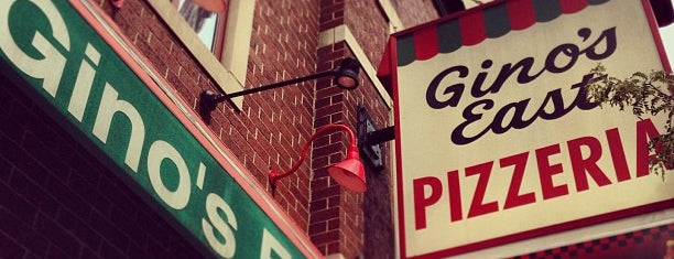 Gino's East is one of Chicago Lunch.