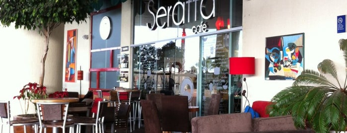 Seratta Café is one of Restaurantes Puebla.