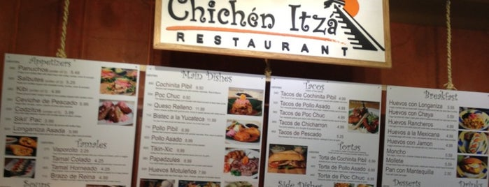 Chichen Itza Restaurant is one of Jonathan Gold's 101 Best Restaurants.