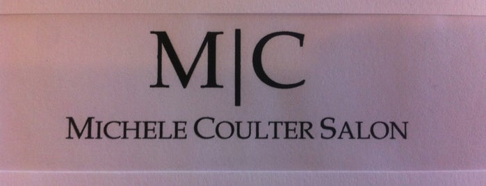 Michele Coulter Salon and Boutique is one of สถานที่ที่ Elena ถูกใจ.