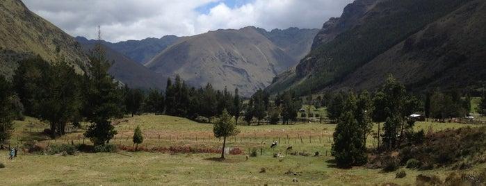 Parque Nacional El Cajas is one of Ecuador.