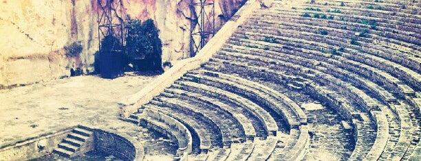 Teatre Grec is one of lugares donde me siento bien LA BARCELONA OCULTA.