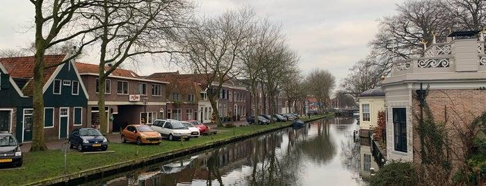 Edam is one of Amsterdam.