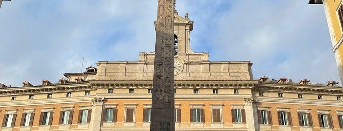 Obelisco di Monte Citorio is one of Roma.