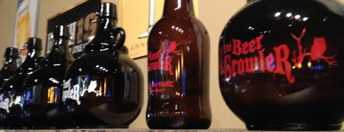 The Beer Growler is one of Places to check out.