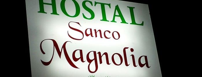 Magnolia Hotel Lloret de Mar is one of สถานที่ที่ Anastasia ถูกใจ.